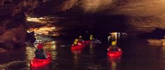 Lost River Cave near Bowling Green, KY has kayak tours for $38.