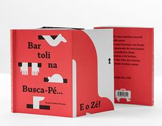 This is not a ordinary picture book. It is a book that dares to merge words, illustration and type into an object that speaks to and challenges the reader.