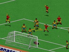 FIFA games - from '94 on the megadrive onwards