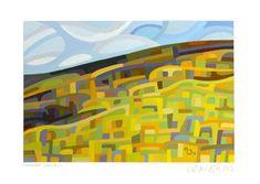 "Daily Paintworks - ""Landscape Study #22"" - Original Fine Art for Sale - © Mandy Budan"