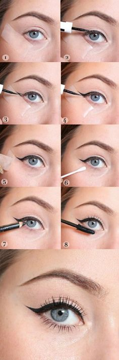 Want to perfect those eyeliner? I'm sure it pisses you off when you spend almost an hour doing this and still not satisfied with the result. This hacks will surely be of great help! 12 EYELINER HACKS for FLAWLESS Winged Eyeliner Every Time! Eyeliner Hacks, Winged Eyeliner Tricks, Perfect Winged Eyeliner, Winged Eyeliner Tutorial, Simple Eyeliner, Applying Eye Makeup, Eye Liner Tricks, Eye Makeup Tips, Makeup Hacks