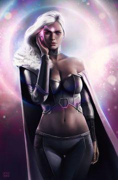 Сексуальная героиня marvel comics мисс эмма фрост