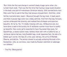 """The attributes of a """"perfect"""" woman. Tina Fey, Bossypants. SO funny."""