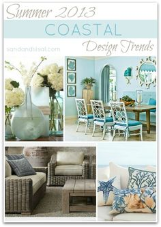 DIY:: BEAUTIFUL !!! Summer Design Trends with tons of #DIY Projects you can do easily at home !!! by @Sand and Sisal