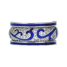 This wide band is one of my fav Hidalgo stack rings!!