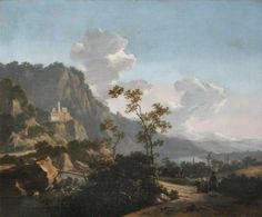 BBC - Your Paintings - Southern Mountain Landscape - Pynacker