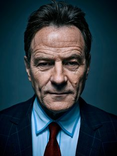 A portrait for the Wall Street Journal with the Breaking Bad Star Bryan Cranston