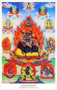 Wrathful Guru Rinpoche Dorje Godrab 金刚铠甲