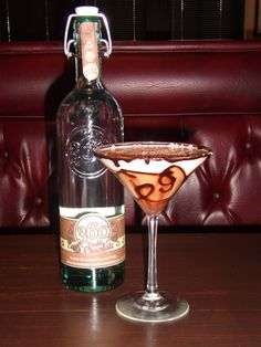 360 Double Chocolate vodka - my new favorite. Mix with cream soda and enjoy!