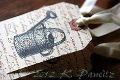 Watering Can Gift Tags