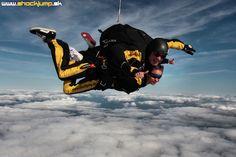 Tandemový zoskok padákom - Shockjump, s.r.o.