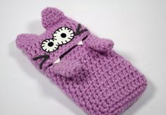 CAT phone case, CUSTOM all cell phone crochet wool cover