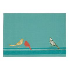 Song Bird Embellished Placemat
