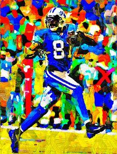 Calvin Johnson Fauvism Painting - Virtual Painter 6.