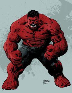 Red Hulk by Gabriel Hardman