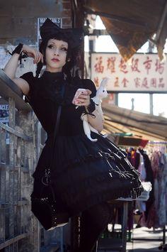 #Gothic Lolita style, always yummy!