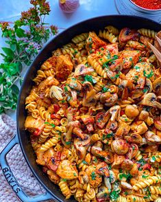 Pasta Recipes, Real Food Recipes, Cooking Recipes, Yummy Food, Everyday Dishes, Food Is Fuel, Dinner Is Served, But First Coffee, Soul Food