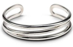 Tiffany Elsa Peretti Open Center Cuff Bangles