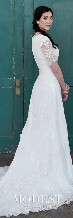 Trendy wedding dresses with sleeves a line tulle ideas Modest Wedding Gowns, Wedding Dress Sleeves, Long Sleeve Wedding, Dresses With Sleeves, Cap Sleeves, Short Sleeves, Wedding Shoes, Tulle Dress, Lace Dress