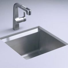 Kohler K3671-NA 8 Degree Undermount Bar Sink - Stainless Steel  Prep Sink