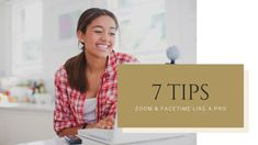 """Video Tips to Zoom like a Pro"""" so you'll be using Zoom, FaceTime & Skype without fear and have a better presence & experience online I Love You All, Make You Feel, That Look, How Are You Feeling, Like A Pro, Just Smile, Fix You, Facetime, Book Club Books"""