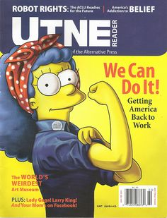 Marge Simpson can do it!