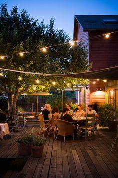 #theboonvillehotel #table128 #boonvillehotel #boonville #hotel #andersonvalley #mendocinocounty #californiadining #outdoordining #patiodining #deck #circuislights #appletree #prixfix #setcourse #casual #homecooking #delicious