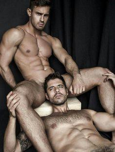 Diego Arnary & Konstantin Kamynin photographed by Greg Vaughan