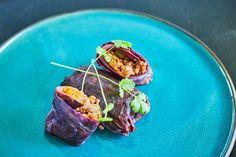 Vega töltött káposzta - jól látjátok! Rabbit Food, Tacos, Mexican, Health, Ethnic Recipes, Bulgur, Health Care, Mexicans, Salud