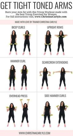 Arm Workout for Women | Posted By: NewHowToLoseBellyFat.com