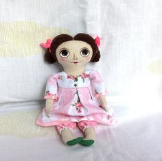 Textile Doll Primitive doll Handmade doll by HouseInspiration