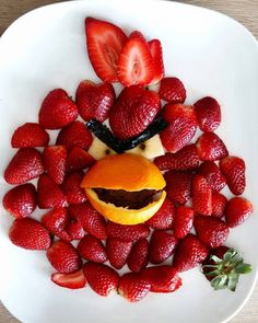 #angrybirds #foodart #strawberry #donkeyandthecarrot #cutefood #partyfood #kids