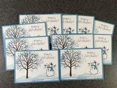Christmas Cards Stampin Up Cards Christmas Card Set of 10