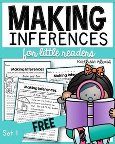 Inference Reading Comprehension passages for little readers - great for first or second grade. Free sample!