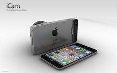 Turns Your iPhone5 into a Digital Camera: Apple iCam Concept
