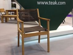 BARLOW TYRIE - 'brand new' for 2015, our traditional teak with cord seating - Monterey chair