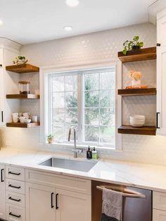 Kitchen Room Design, Kitchen Redo, Modern Kitchen Design, Home Decor Kitchen, Kitchen Interior, New Kitchen, Home Kitchens, Kitchen Ideas, Kitchen Small