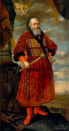 Portrait of Stefan Czarniecki by Brodero Matthisen, 1659 (PD-art/old), Zamek… Grand Prince, Paladin, Jacques Le Goff, Medieval, Poland History, Grand Duc, Costumes Around The World, Old Portraits, Exotic Art