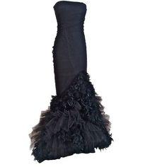 VPOD Vintage Ralph Lauren Evening Gown found on Polyvore