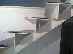 scala ferro bianco 2