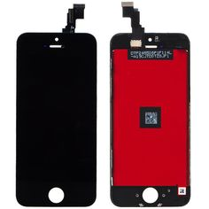 Original Apple iphone 5c Full LCD Display Kompletteinheit Glas Touch black neu