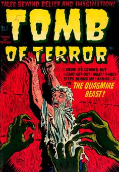 Tomb of Terror (No.2, 1952) Cover Art by Lee Elias