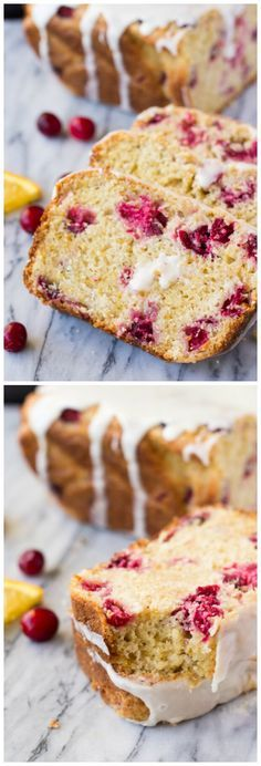 Perfectly soft & moist Cranberry Orange Loaf drizzled with sweet orange glaze. Make sure to include this recipe in your holiday baking check list!