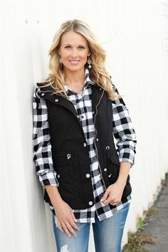 Plaid is a must have for your fall wardrobe.Wear these on their ownor layered with your favorite vest or jacket. These will keep you warm and cozy during the fall and winter. 95% Cotton, 5% Polyester.STYLES:AlexisAndreaJuliaCandyCarolClaraElsieJudithParkerHollyErikaSIZES:Small (0-4)Medium (6-8)Large (10-12)Model is wearing a size small.
