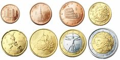 Alle euromunten - Euromunten en biljetten O Euro, Coins, Collage, Personalized Items, Collages, Rooms, Collage Art, Colleges