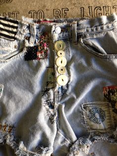 Upcycled denim by estelline. Wichita Falls Texas