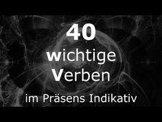 Deutsch Lernen   40 Verben   Verben im Präsens   #Verben   Learn German HD♫ - YouTube