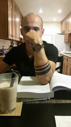 Arm band tattoo Plus