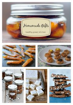 Healthy Green Kitchen Homemade Gift Ideas + $500 Amazon.com Giveaway | www.healthygreenkitchen.com