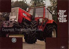 Tractorbrochures.com/Steyr Plus Steyr, Tractors, Monster Trucks
